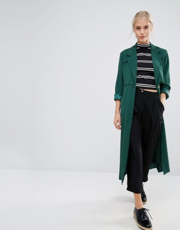 monki trench asos