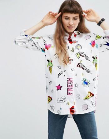 asos-printed-cotton-shirt