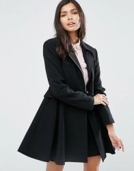 manteau patineuse noir asos