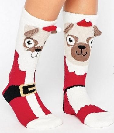 chaussettes-pug-noel-asos