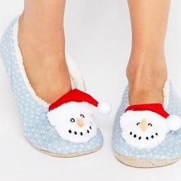 chaussons-asos-bonhomme-de-neige