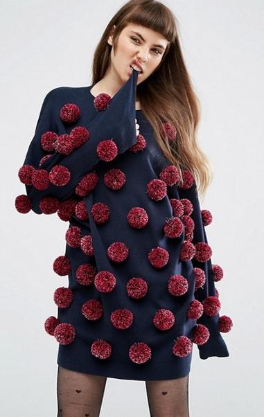 robe-pompons-asos