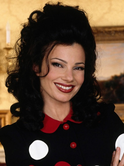 Fran Drescher portrays Fran Fine on THE NANNY