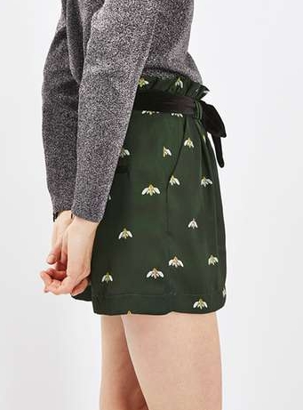 short-abeille-topshop