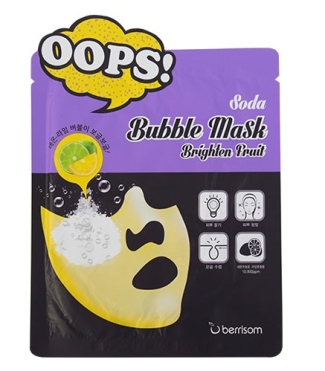 soda bubble mask berrisom beautybay