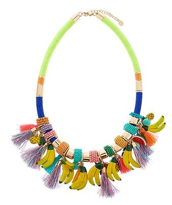 collier tropical accessorize