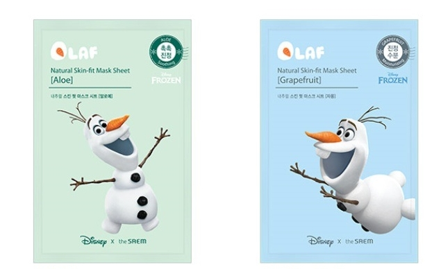 the saem disney natural skin fit mask sheet