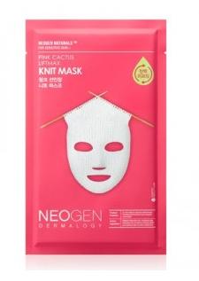 testerkorea neogen knit mask pink cactus