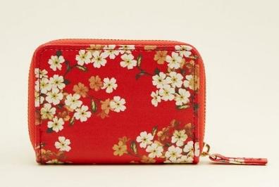 porte cartes fleuris new look